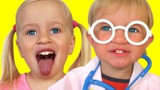 Песня для детей про доктора | Песни для детей от Кати и Димы