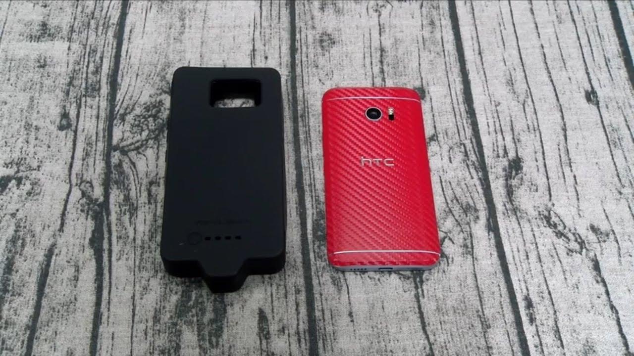 online store 3ff43 3bf30 HTC 10 ZeroLemon 8,500mAh Extended Battery Case