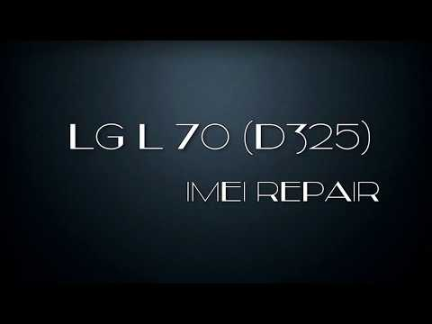 LG L70 (D325) IMEI NULL - Repair Network After eMMC IC Replacement Using UFI Android Tool Box