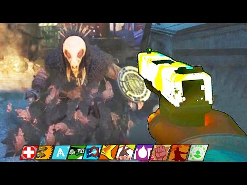 SHAOLIN SHUFFLE - RAT KING FINAL BOSS EASTER EGG HUNT WALKTHROUGH! (Infinite Warfare Zombies)