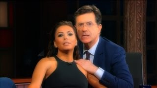 Eva Longoria & Stephen Give The Presidential Race A Soap Makeover