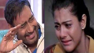 काजोल के साथ हुआ बड़ा हादसा, अजय ने उड़ाया मज़ाक…! | Kajol Injured On The Sets, Recalls Ajay Devgn