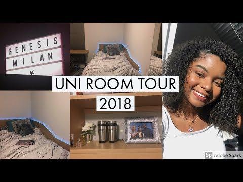 COLLEGE/UNI ROOM TOUR 2018 | Genesis Milan
