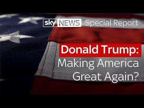 Donald Trump: Making America great again? | Special report