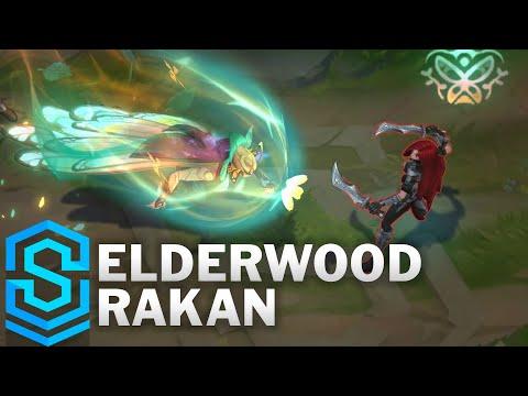 Elderwood Rakan Skin Spotlight - Pre-Release - League of Legends