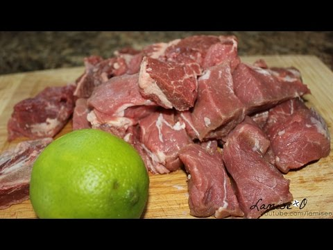 How To Clean Beef (Nettoyage Viandes Boeuf) | Episode 63