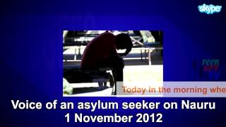 Nauru hunger striker calls for freedom