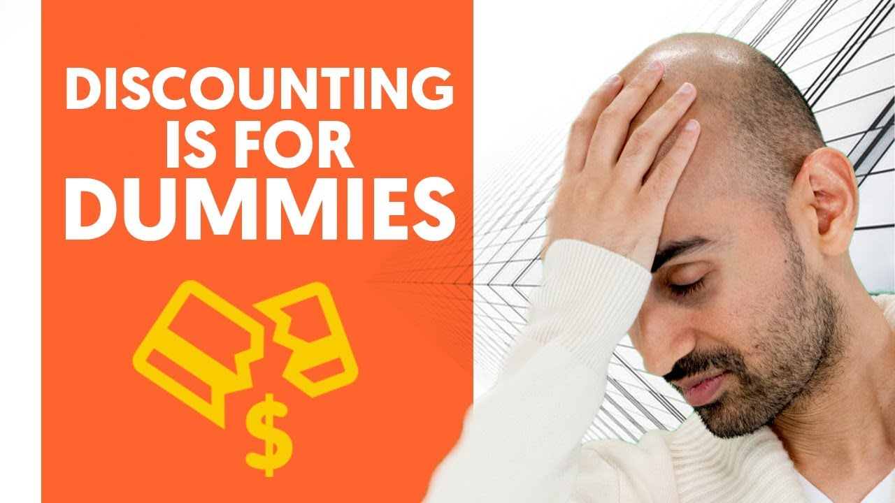 Discounting is for Dummies – Here's Why And What to Do Instead | Sales Training