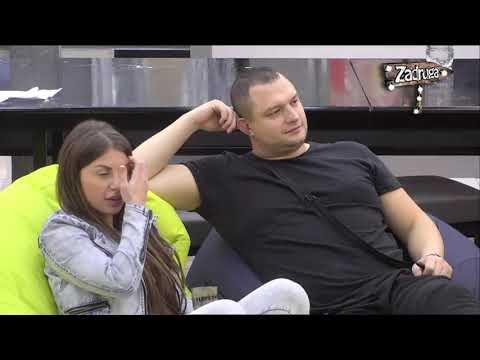 Zadruga 2 - Pavle i Dragana gledaju seriju i pričaju - 25.12.2018.