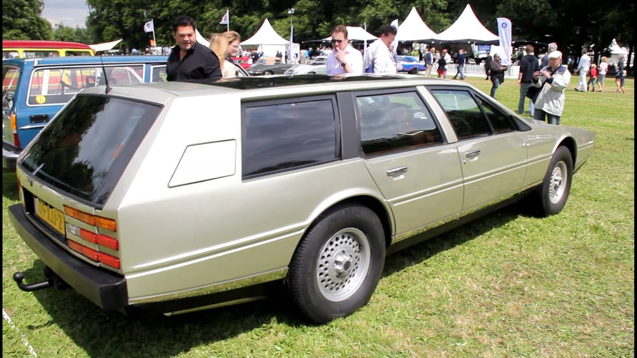 Ultra Rare One Of A Kind Aston Martin Lagonda Shooting Brake At Concours D Elegance Youtube