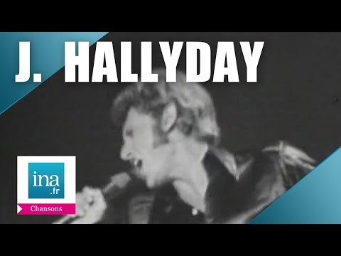 """Johnny Hallyday """"Confessions""""   Archive INA"""