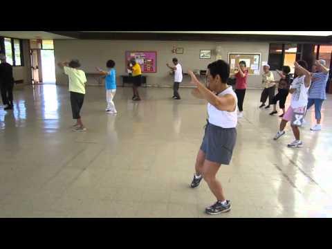 Yang Style Tai Chi Refinement Turn Deflect Parry Punch everydaytaichi lucy chun Honolulu, Hawaii