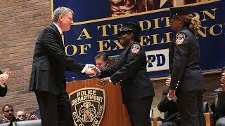 Mayor Bill de Blasio Delivers Remarks at the NYPD Promotion Ceremony