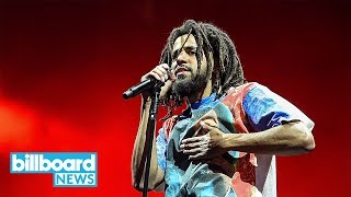 J. Cole Shares 'Album of the Year' Freestyle | Billboard News