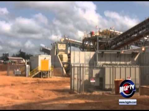 GUYANA GOLDFIELDS INC. POURS FIRST GOLD BAR