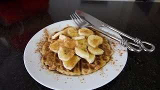 Best Ever 2 Ingredient Easy Waffle Recipe (no Dairy Or Eggs)