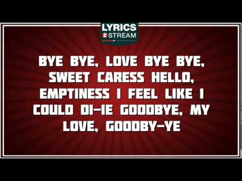 Bye Bye Love - The Everly Brothers tribute - Lyrics