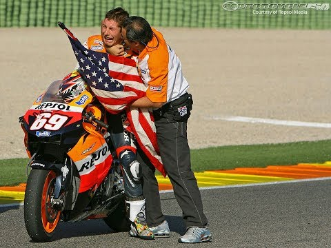 Remembering Nicky Hayden   The day he won the MotoGP World Championship