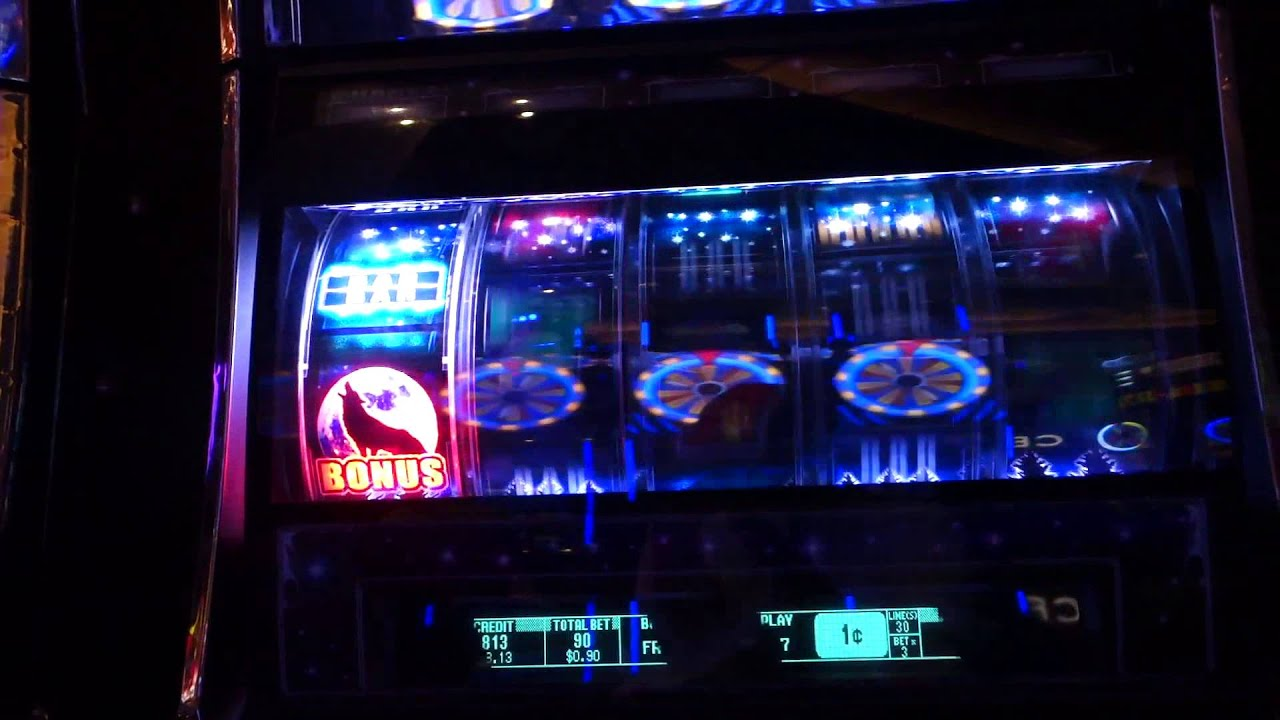 Howling Wolf Slot Machine