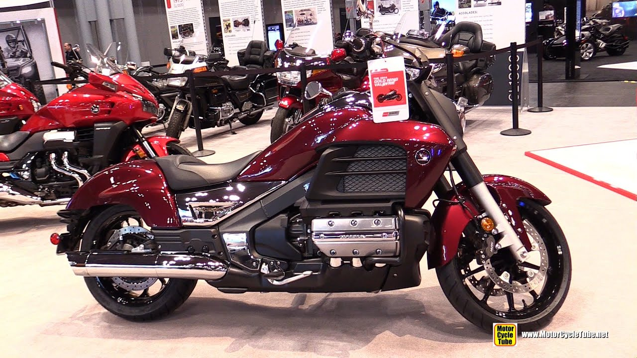 2015 Honda Gold Wing Valkyrie - Walkaround - 2014 New York ...