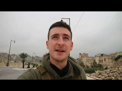 ALEPPO SYRIA 2020 VLOG - Damage after the war in the old city