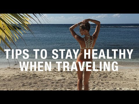 HOW TO AVOID GETTING SICK WHEN TRAVELING (TUMMY TALK)