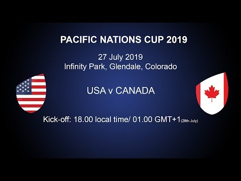 Pacific Nations Cup 2019 - USA V Canada