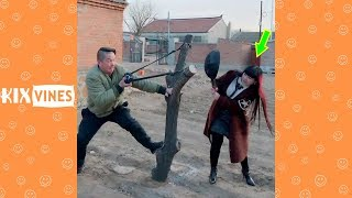 Funny videos 2019 ✦ Funny pranks try not to laugh challenge P70