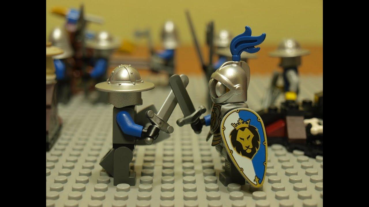 Rycerze Knight Animation Lego Youtube
