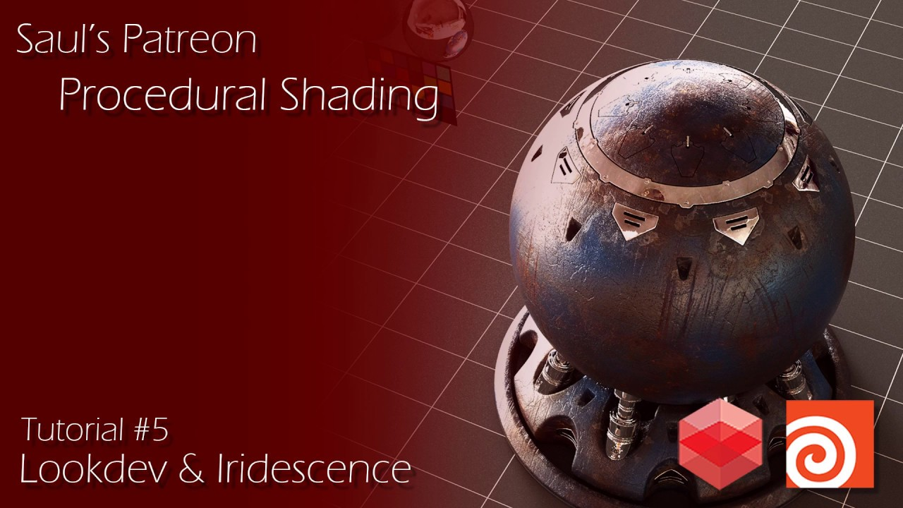 Procedural Shading & Lookdev in Houdini + Redshift