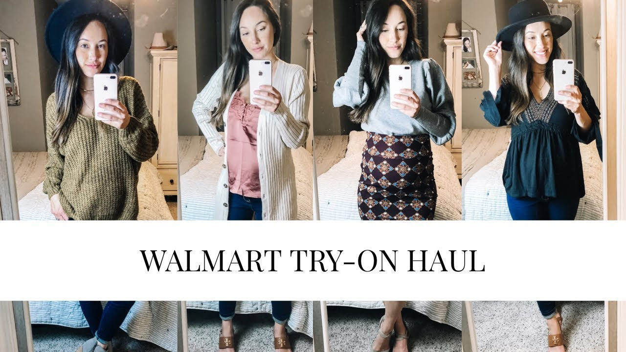[VIDEO] – HUGE WALMART Try-on Haul + Fall 2019 outfit ideas