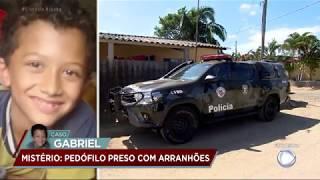 Caso Gabriel: polícia prende acusado de sumir com a criança de oito anos