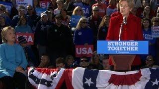 Clinton, Warren Join Forces to Denounce Trump