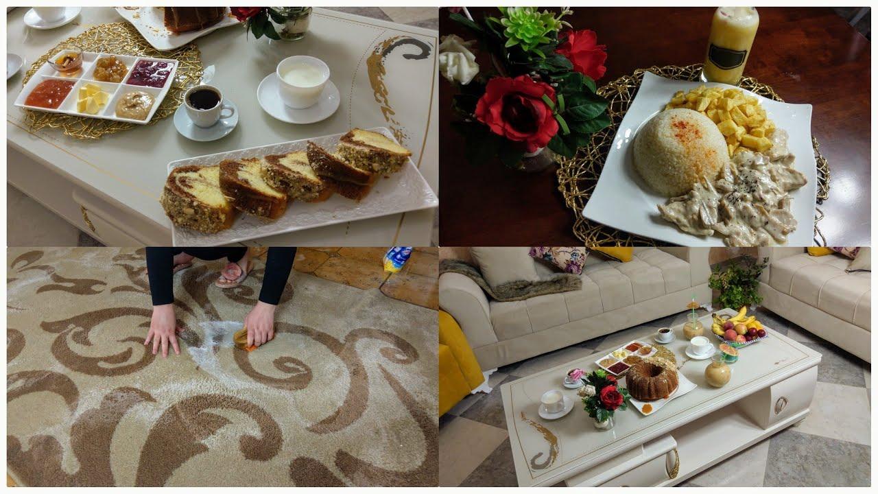 ياحليلي على المراة الجزائرية🇩🇿 كي تتحف طبلتها وتفرح دارها 😜😍روتين نشاط وتزرزيق اقتراح طاوله القهوة