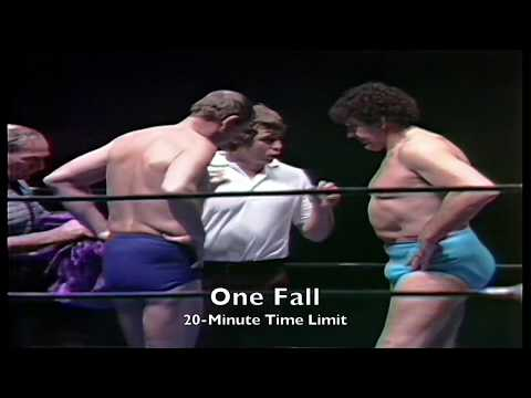 BILLY ROBINSON VS DORY FUNK JR, January 16, 1981 (Houston Wrestling)