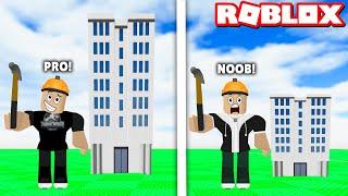 Yüksek Binalar Yap ve Herkesi Yen!! - Panda ile Roblox Building Simulator 2