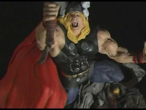 Monster Model Review #108 The Mighty Thor by Toybiz