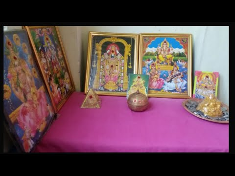 Pooja space cleaning video. Puja utensils cleaning quickly.