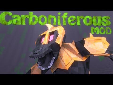 Dinosaur Mod: Minecraft Carboniferous Mod Showcase!
