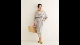 TP059 ガウンドレス https://pattern.handmadecompany.jp/products/deta...
