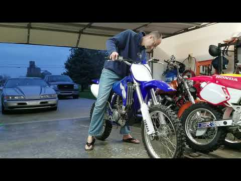 2002 YZ250F Starting Process At 4.5 Hours
