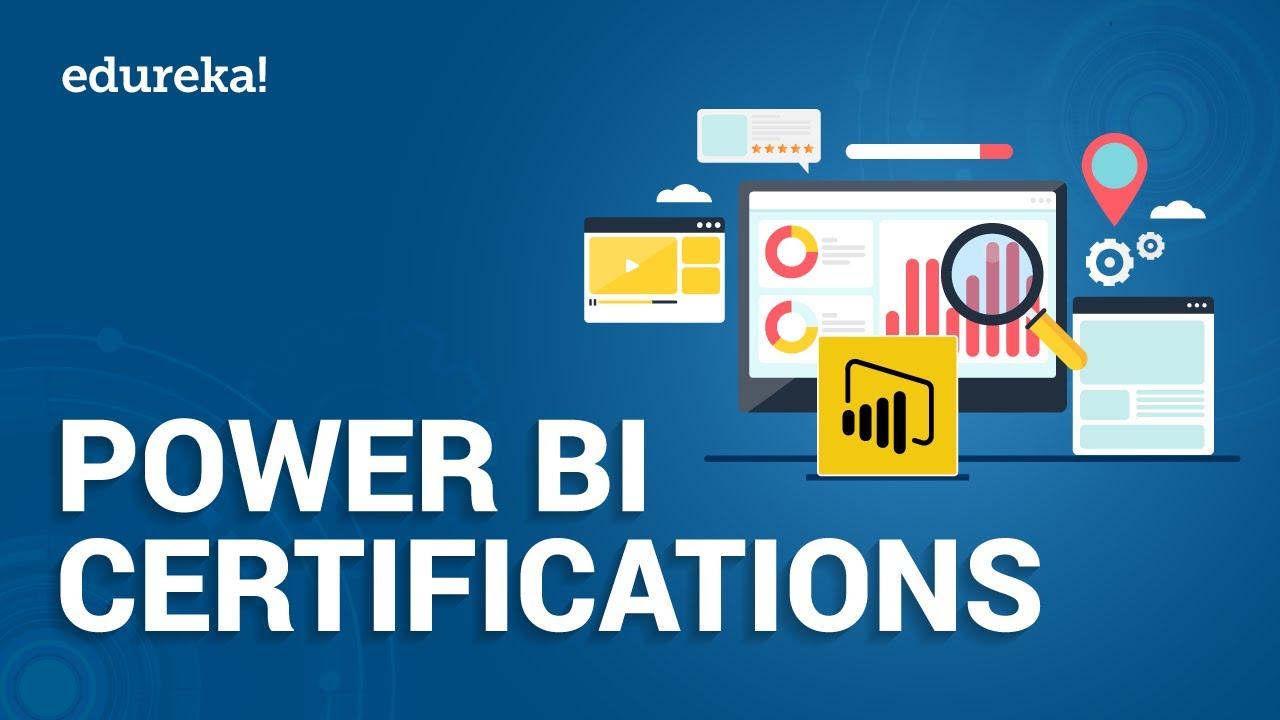 Power BI Certifications in 2021 | Power BI Exam Certification | Power BI Training