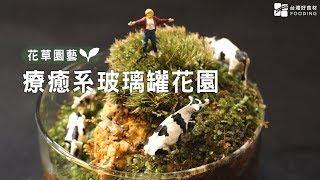 【玻璃罐微境綠花園】一只玻璃罐打造自己的微型植物園!不只觀賞,更是自然生態觀察!大人小孩都適合! | 台灣好食材 Fooding
