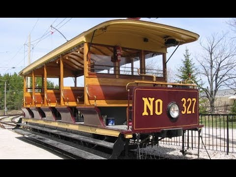 Halton County Radial Railroad Museum: riding TTC #327: June 20th, 2018