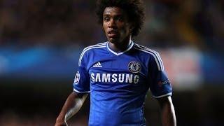 Willian Borges Da Silva - FC Chelsea | Skills - Goals  2013/14