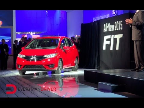 Here's the 2015 Honda FIT Reveal on Everyman Driver