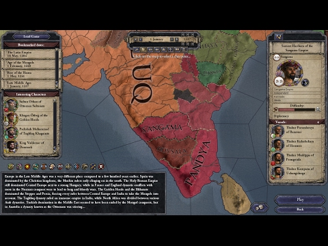 *PSI Live* - Crusader Kings II (Sangama Empire) - Part 1: Little Vijayanagar