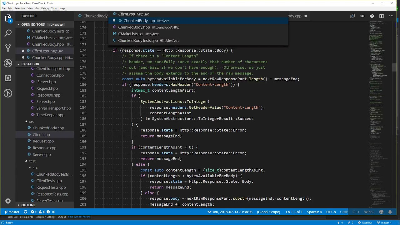 0051 - C++ Programming: HTTP Chunked Transfer Encoding