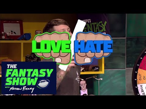 Love/Hate: Week 4 Edition | The Fantasy Show | ESPN