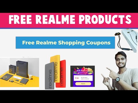 Free Realme Products | Free Realme Shopping Coupons | Free Products From Realme Store |